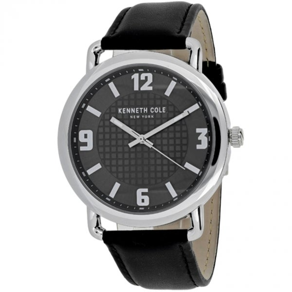 0e611a8f482 Shop Kenneth Cole Classic Men s Black Dial Watch - Free Shipping Today -  Overstock - 14256045