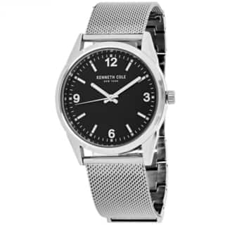 Kenneth Cole Classic 10024820 Men's Black Dial Watch https://ak1.ostkcdn.com/images/products/14256048/P20844185.jpg?impolicy=medium