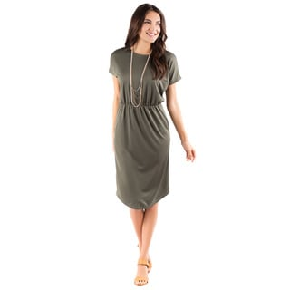 DownEast Basics Women's Simply Stylish Dress