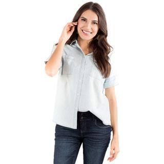 DownEast Basics Women's Casual Lux Shirt