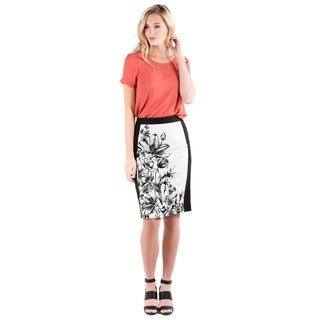 DownEast Basics Women's Pretty Placed Skirt