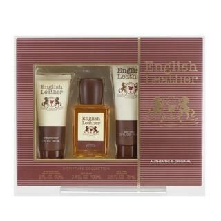 Dana Men's English Leather Fragrance (Set of 3) https://ak1.ostkcdn.com/images/products/14256190/P20844303.jpg?impolicy=medium