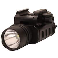 Leapers Inc. LED Weapon Light Compact with QD Lever Lock, 400 Lumens, Black