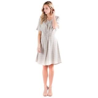 DownEast Basics Women's Back Me Up Dress