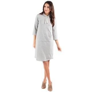 DownEast Basics Women's Apron Pocket Dress