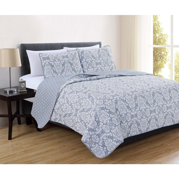 Home Fashion Designs Isabel Collection 3-piece Quilt Set