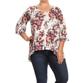 Women's Floral Plus Size Tunic