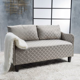 Adira Fabric Loveseat by Christopher Knight Home