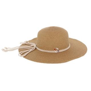 Women's Khaki Anchor Floppy Hat