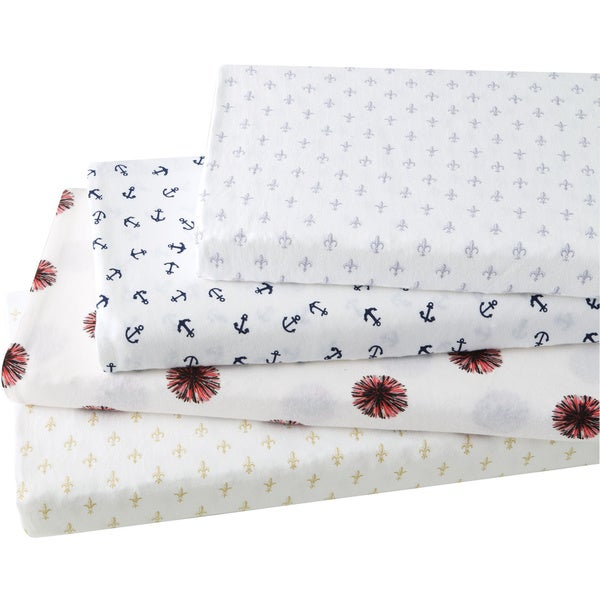 Brielle Fashion Cotton Jersey Sheet Set