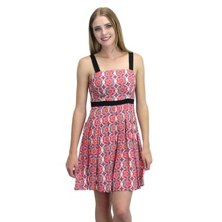 Relished Women's Pink Multicolored Print Sundress