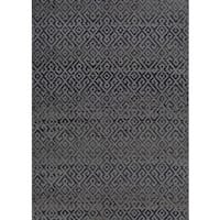 Couristan Monaco Pavers Black Indoor/Outdoor Area Rug - 8'6 x 13'
