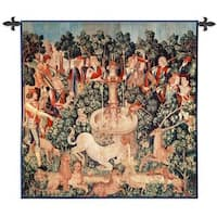 'The Unicorn is Found' Cotton Wall Tapestry