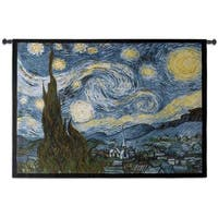 Fine Art Tapestries 'Starry Night' Large Wall Tapestry