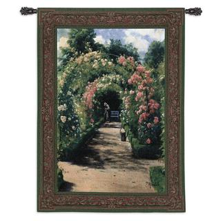 Fine Art Tapestries In The Garden Large Cotton Wall Tapestry