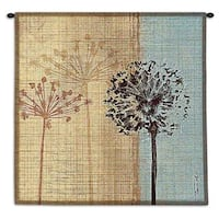 Fine Art Tapestries 'In The Breeze' Multicolored Cotton Wall Tapestry