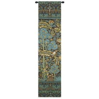 Fine Art Tapestries 'In the Blue Wood 2' Wall Tapestry