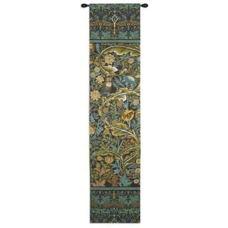 Fine Art Tapestries In the Blue Wood 1 Cotton Wall Tapestry