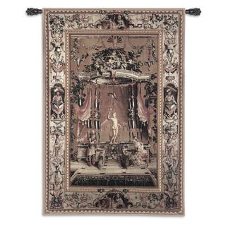 Fine Art Tapestries 'The Offering to Bacchus' from The Grotesques Series Large Wall Tapestry
