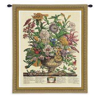 Fine Art Tapestries 'Sept Botanical' Cotton Wall Tapestry
