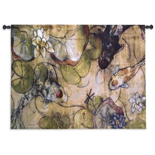 'The Meeting' Cotton Wall Tapestry