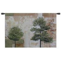 Fine Art Tapestries 'Parchment Trees I' Wall Tapestry