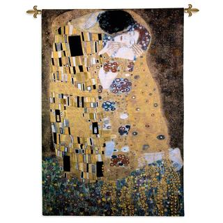 Fine Art Tapestries 'The Kiss' Large Wall Tapestry