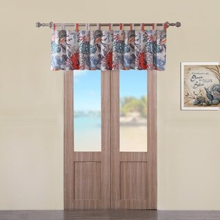 Barefoot Bungalow Atlantis Window Valance