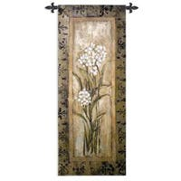 Fine Art Tapestries 'Paperwhite I' Cotton Wall Tapestry