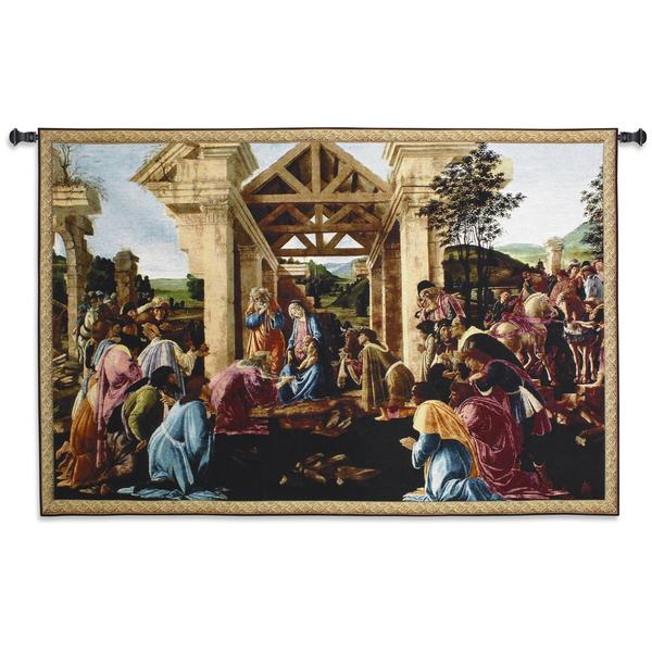 Shop Fine Art Tapestries Botticelli \'The Adoration of the Magi\' Wall ...