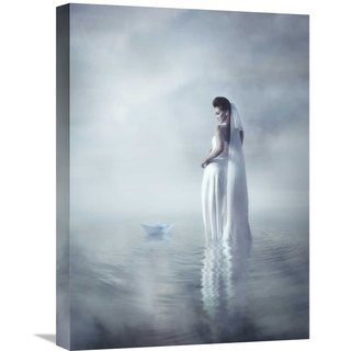 Global Gallery Heru Agustiana 'Ready For Departure' Stretched Canvas Artwork