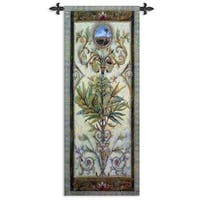 Fine Art Tapestries Textured View I Cotton Wall Tapestry