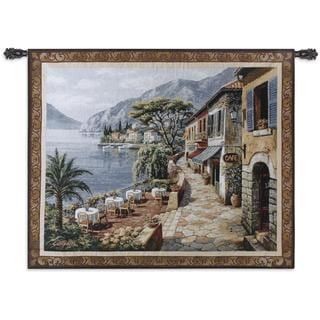 Fine Art Tapestries 'Overlook Cafe II' Wall Tapestry