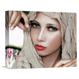 Global Gallery Rezamoto 'Beauty' Stretched Canvas Artwork