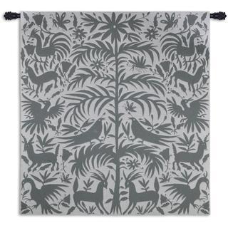 Otomi Platinum Wall Tapestry