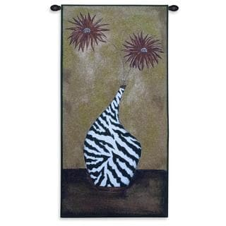Fine Art Tapestries 'Safari Floral I' Cotton Wall Tapestry