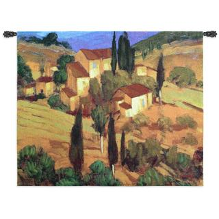 Fine Art Tapestries 'Terra Cotta Afternoon' Wall Tapestry
