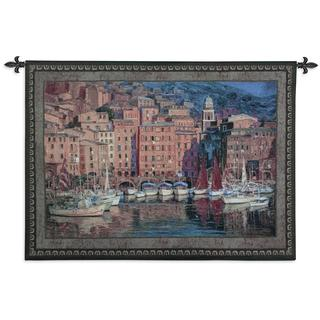 Fine Art Tapestries Ruby Sails Cotton Wall Tapestry