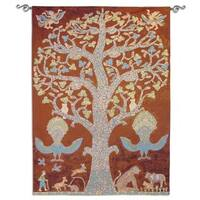 Fine Art Tapestries 'Temple Tree of Life' Wall Tapestry