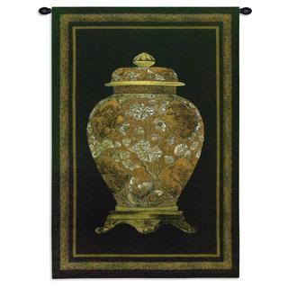 Fine Art Tapestries 'Oriental Jar II' Small Wall Tapestry