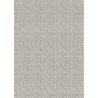 Couristan Monaco Pavers/Mocha Indoor/Outdoor Area Rug - 5'10 x 9'2