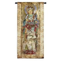 Fine Art Tapestries 'Lotus I' Cotton Wall Tapestry