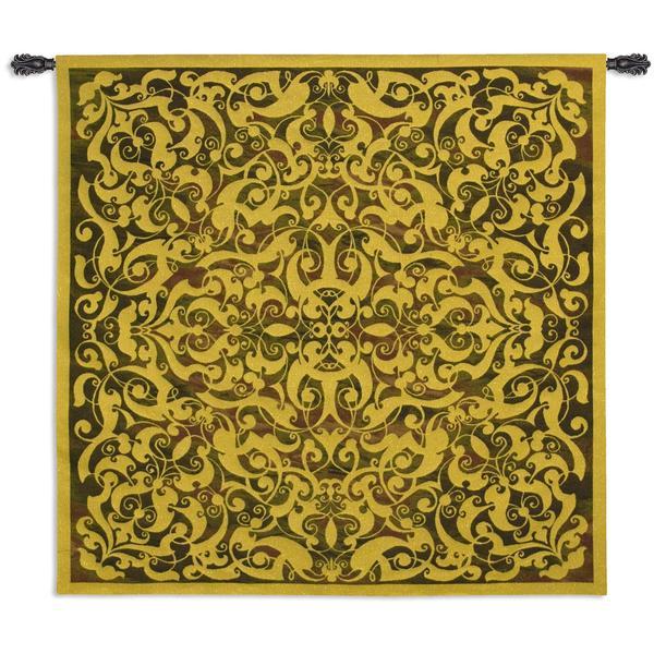 Fine Art Tapestries 'Golden Scroll' Wall Tapestry