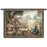 Fine Art Tapestries 'Romantic Pastoral Scene' Cotton Wall Tapestry