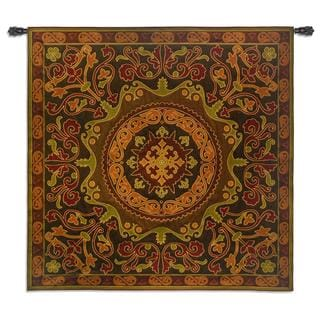 Fine Art Tapestries 'Suzani Radiance' Cotton Medium Wall Tapestry