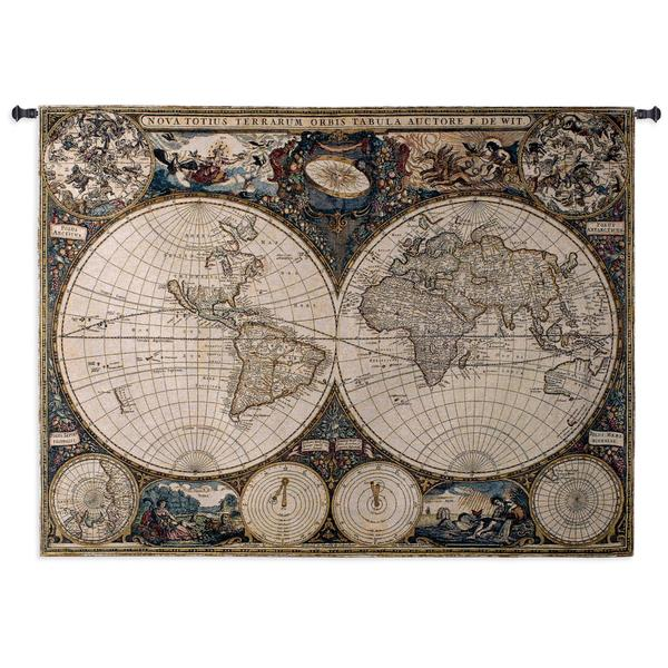 Shop Old World Map Wall Tapestry