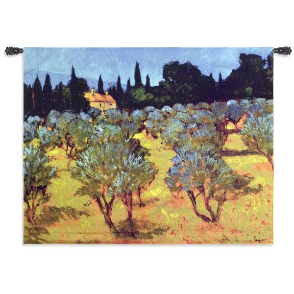 Fine Art Tapestries 'Les Olives Printemps' Wall Tapestry
