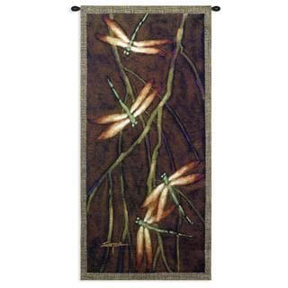 Fine Art Tapestries 'October Song II' Multicolored Cotton Wall Tapestry