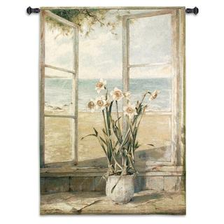 Fine Art Tapestries Ocean Narcissus Cotton Wall Tapestry