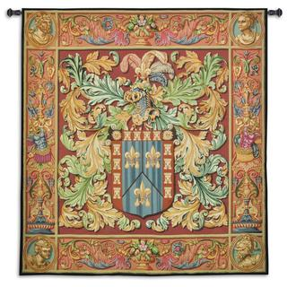 Fine Art Tapestries Regal Crest Multicolor Cotton Wall Tapestry